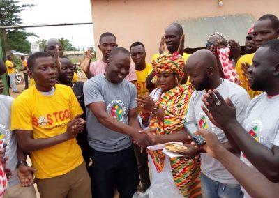 Soutien aux réfugiés au Ghana