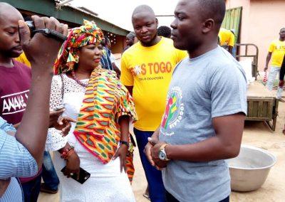 SC de Lomé au Nord du Ghana
