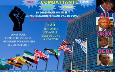 MANISFESTATION AUX NATIONS UNIES