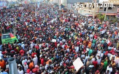 Marche de la C14:  ADDI remercie les populations