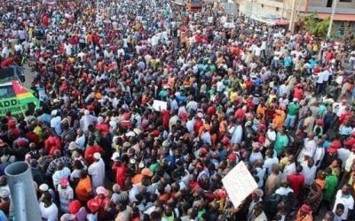 C14:  GRANDES MARCHES NATIONALES DU PEUPLE TOGOLAIS POUR DIRE NON AU COUP DE FORCE ELECTORAL DU RPT UNIR