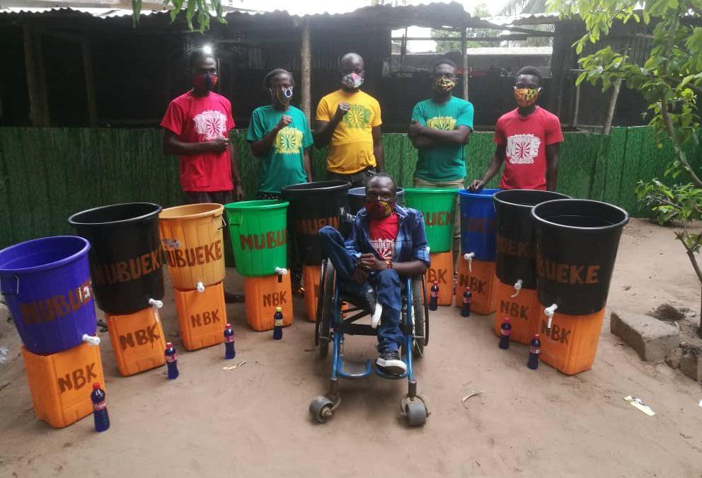 Mouvement Nubueke Togo au côté du peuple Togolais pour la fin du Covid19.