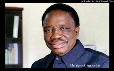 HOMMAGE A Me. Agboyibor Yaovi