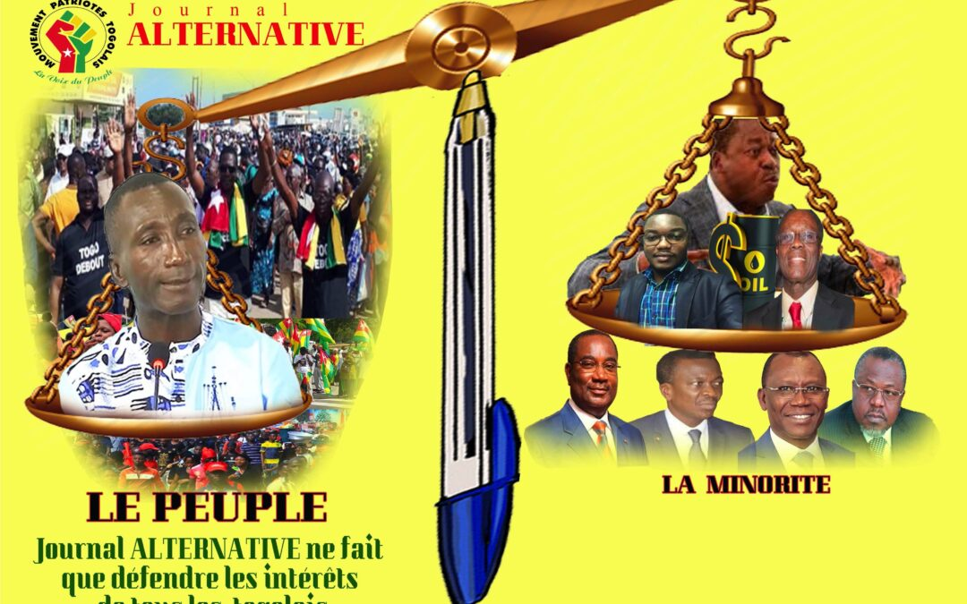 Mouvement Patriotes Togolais soutient Le journal l'Alternative