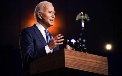 Le candidat démocrate Joe Biden a été élu46e président des États-Unis