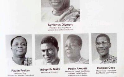 Premier Gouvernement de Sylvanus Olympio
